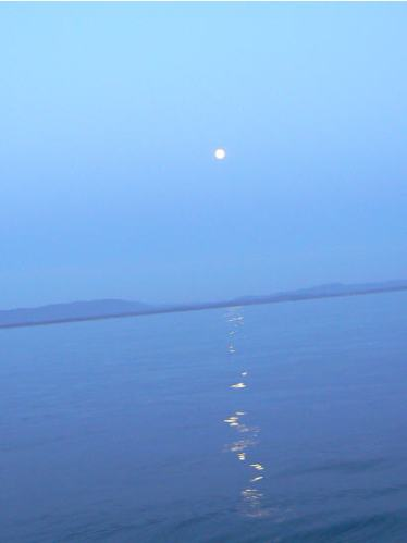 Glassy Water n Moon