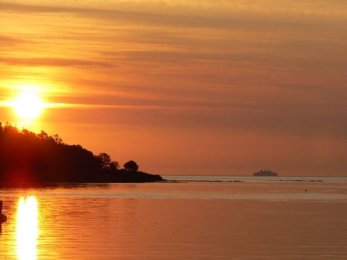 Sivla Bay Sunset