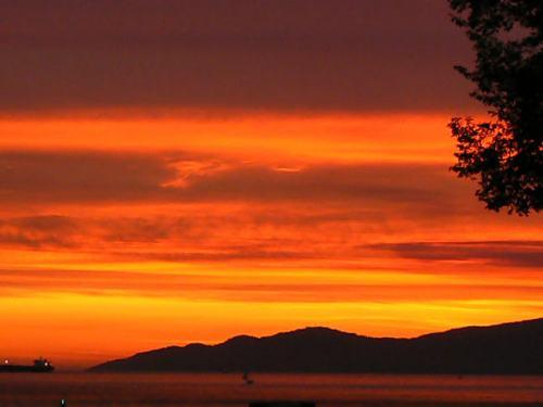 Sunset at RVYC